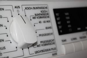 Waschmaschine Programmauswahl